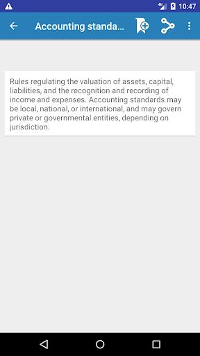 Screenshot 4 Economics Dictionary