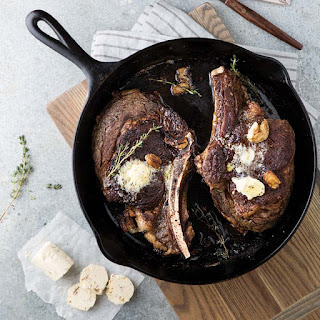 Butter-Basted Steaks Recipe