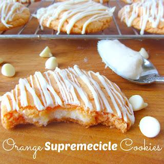 Orange Supremecicle Cookies
