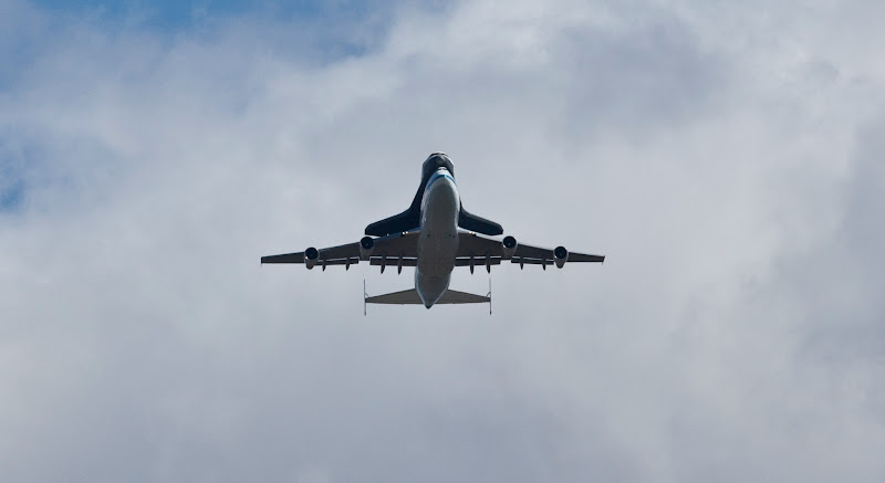 Photo: Space Shuttle Enterprise arrives in New York City taken by Anthony Quintano / NBC News