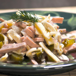 Bologna Salad Wurstsalat.