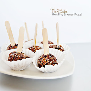 No-Bake Healthy Energy Pops!