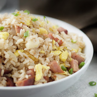 Fried Rice With Leftover Ham.