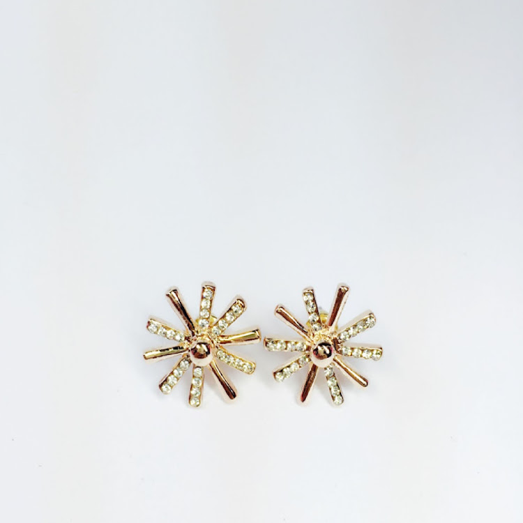 E052_RG - RG. The Sun's Heir Earrings by House of LaBelleD.