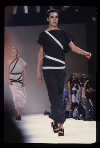 Runway Photograph of Comme des Garçons, Spring/Summer 1984 Collection