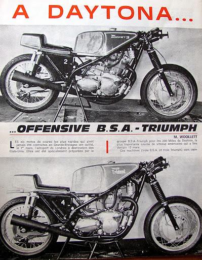BSA et Triumph préparent Daytona 1970, Machines et Moteurs vous présente moto revue numéro 1972 du 14 Mars 1970.