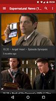 Screenshot of Supernatural Countdown