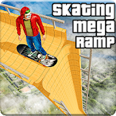 Freestyle Vertical Ramp Skateboard: Skating Games