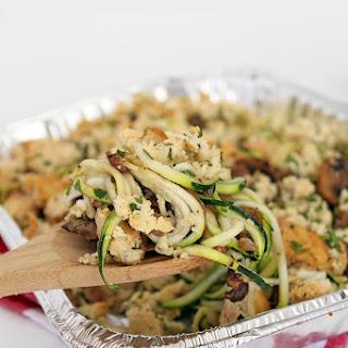 Chicken Tetrazzini with Zucchini Noodles