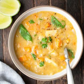 Instant Pot Split Pea & Lentil Soup.