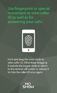 NO SHOW Privacy Hide Caller ID- screenshot thumbnail
