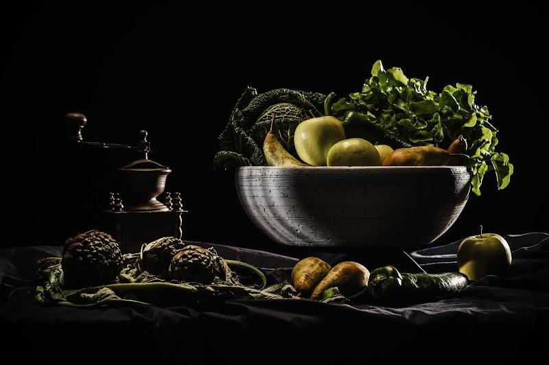 In cucina, all'Osteria Caravaggio di Alessandro Alessandri