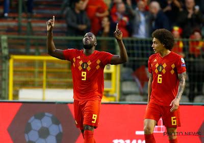 En équipe nationale, Romelu Lukaku est bien plus performant que les meilleurs buteurs européens