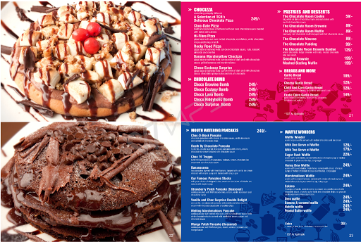 The Chocolate Room menu 5