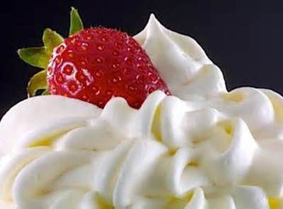 Top with the whipped cream topping of your choice-homemade or store bought.