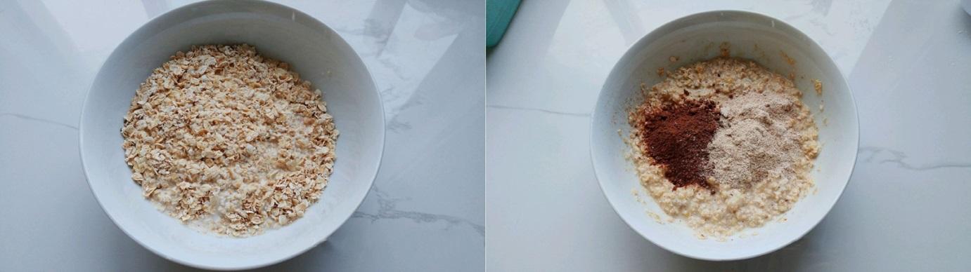 Thèm bánh mà nơm nớp lo tăng cân thì phải làm ngay món bánh chuối yến mạch xốp mềm này thôi các chị ơi! - Ảnh 3.