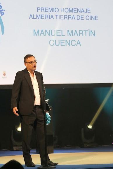 Manuel Martín Cuenca, premio Almería, Tierra de Cine.