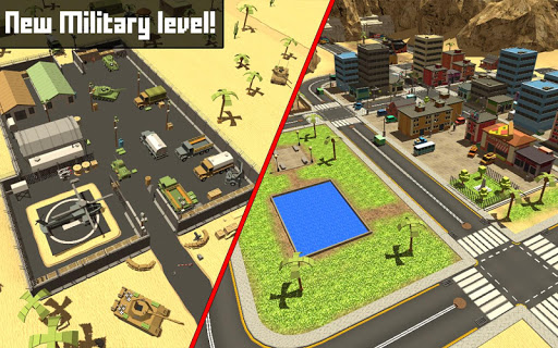 Pixel Block Survival Craft screenshot 9