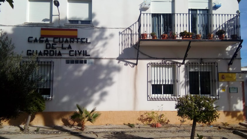 Cuartel de la Guardia Civil en Carboneras.