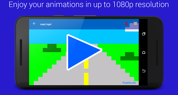 Pixel Animation Studio MP4 GIF – Miniaturansicht des Screenshots