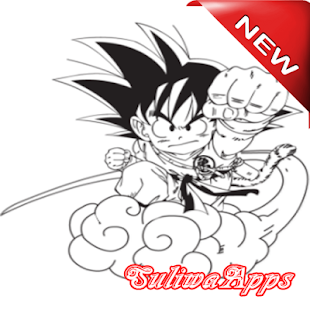 Best drawing sketches son goku super saiyan - náhled