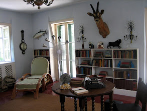 Photo: The Hemingway's study