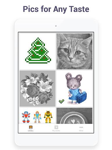 Pixel Art - Colour by Number Book 2.1.2 screenshots 10