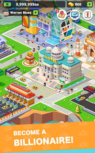 Idle investor tycoon- Build your city filehippodl screenshot 6