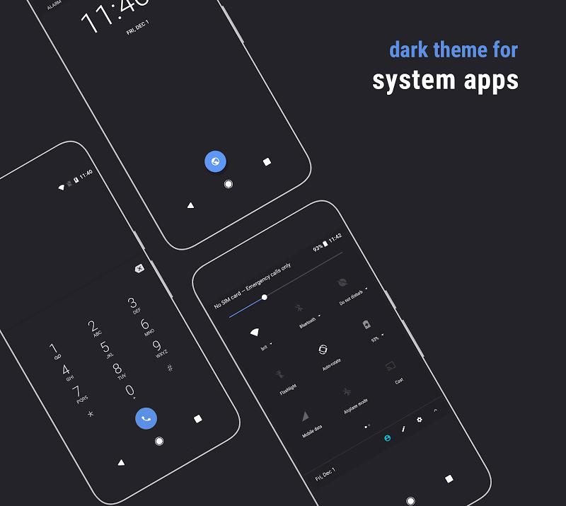 Swift Dark Substratum Theme Screenshot 7