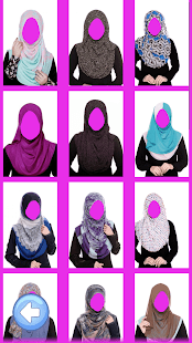 Hijab Muslims photo frames 2017 - náhled