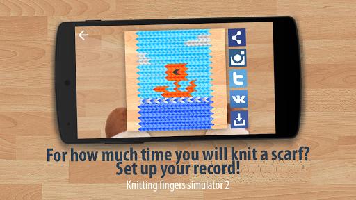 ニット指のシミュレータ2