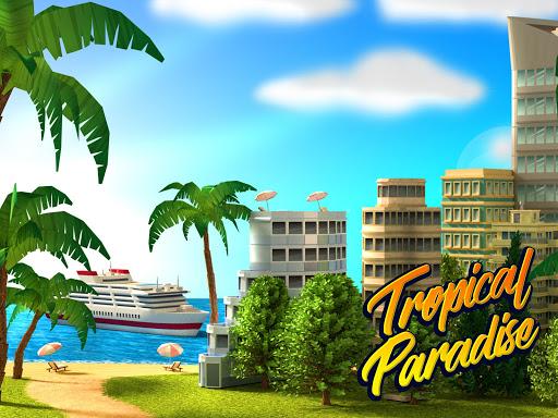 Tropic Paradise Sim: Town Building City Game 1.4.4 screenshots 8