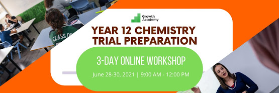 Year 12 Chemistry Trial Preparation Workshop (3 day online workshop)