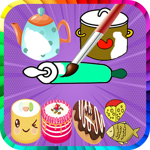 Kitchen Coloring Pages - Kids Coloring Book Android APK Download Free By OurAppsIsTop