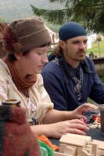 Photo: Ksenija Darko und Selim.