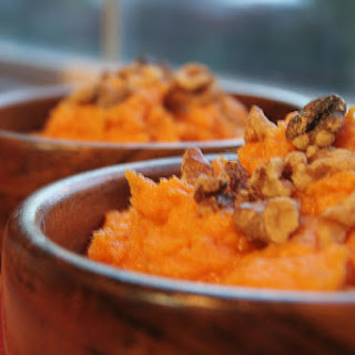 Maple Mashed Yams with Toasted Walnuts, The Ultimate Oregon Thanksgiving Recipe Roundup.