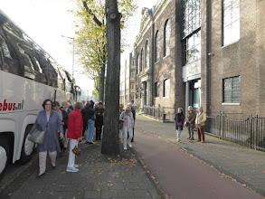 Photo: 14-oktober 2017: CReO reis naar Nationale Opera & Ballet Amsterdam en Biesboschmuseum: Uitstappen bij Waterlooplein
