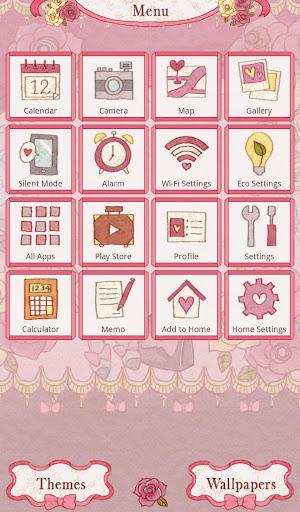 Cute Theme Classically Girly 1.0.0 Windows u7528 2