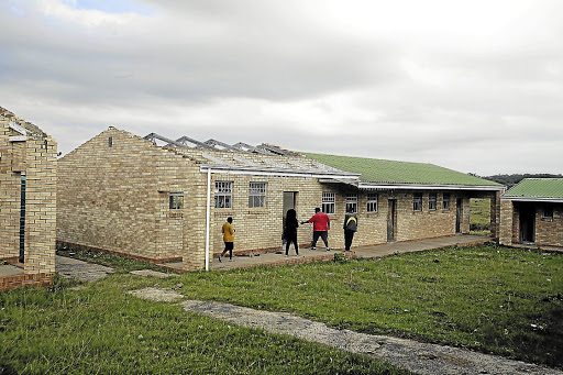 Underfunded: Section 27 and Equal Education have criticised the slow pace of school infrastructure projects. Picture: DAILY DISPATCH