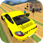 Mountain Crazy Taxi Driver: Yellow Cab Drive Sim