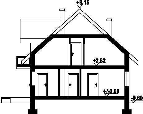 Jaworze 37 - Przekrój