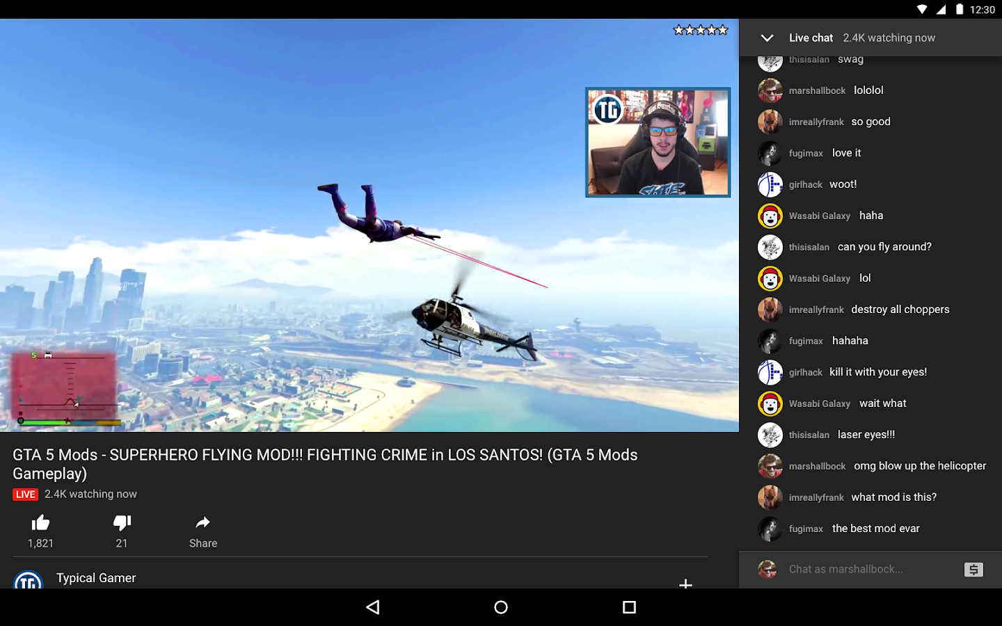 Youtube gaming android apps on google play youtube gaming screenshot sciox Images