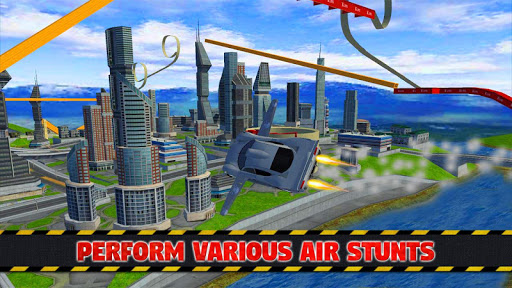Futuristic Flying Car Ultimate - Aim and Fire 2.5 screenshots 8