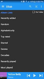 DSub for Subsonic Screenshot 4