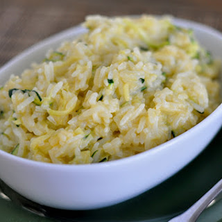 Cheesy Zucchini Rice.