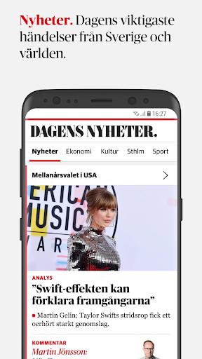 Dagens Nyheter 4.3.1 screenshots 1