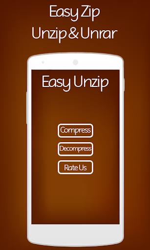 rar Unrar Zip & Unzip File app 1.4 screenshots 1