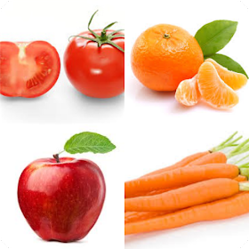quiz fruit and vegetables