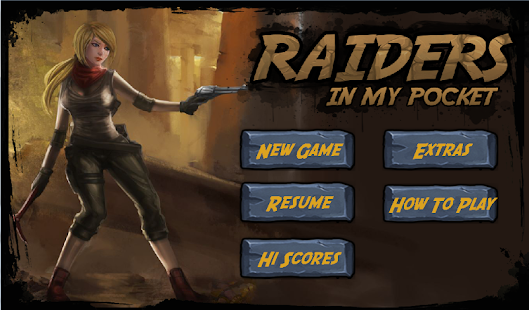 Raiders in my pocket Screenshot