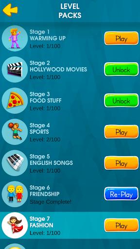 Words to Emojis u2013 Best Emoji Guessing Quiz Game screenshots 21